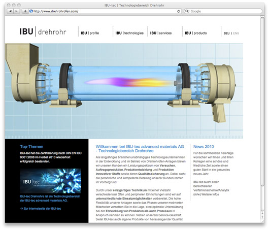 IBU-tec advanced materials AG - Corporate Website